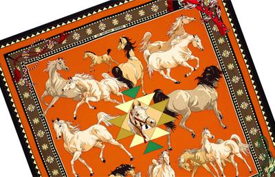 aea36abad14 Lenços Hermès para as apaixonadas por cavalos – Hipismo Co